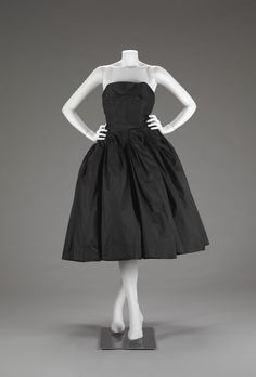 Dress, Christian Dior, 1950, The Indianapolis Museum of Art