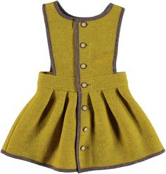 Hilda.Henri Maria Dress # mustard Mustard Jumper, Girl Outfits, Fashion Outfits, Designer Kids Clothes, Baby Kids Clothes, Kid Styles, Traditional Outfits, Stylish Outfits, Ballerina