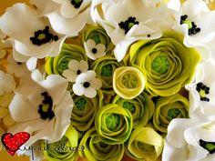 rununculus flowers toppers.ciupakabra cakes
