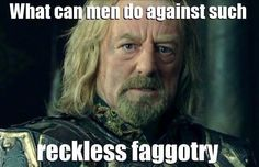 What can men do against such reckless faggotry? Response Memes, Embedded Image Permalink, The Hobbit, Einstein, Canning, Funny, Men, Fictional Characters, Middle Earth