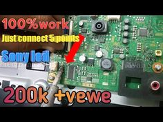 Sony Lcd Tv, Sony Led, Free Software Download Sites, Computer Maintenance, Sony Electronics, Lcd Television, Electronic Circuit Projects, Tv Panel, Led Board