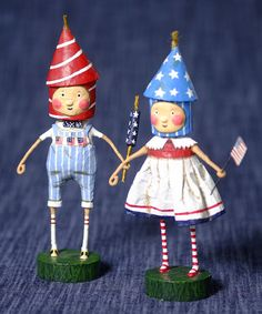 Look at this Lil' Firecrackers Figurine Set on #zulily today!