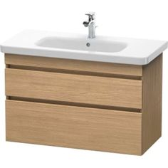 Buy the Duravit European Oak Direct. Shop for the Duravit European Oak DuraStyle Single Wall Mounted Wood Vanity Cabinet Only - Less Vanity Top and save. Bathroom Vanity Base, Wood Vanity, Vanity Cabinet, Vanity Units, Vanity Sink, Bathroom Storage, Oak Kitchen Cabinets, Floating Vanity, Wall Mounted Vanity