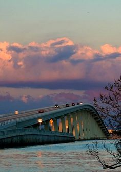 Sanibel Causeway Bridge, Sanibel Island, Florida...