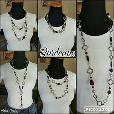 Bordeaux necklace. Premier Designs Jewelry. Saracarrico.mypremierdesigns.com #pdstyle