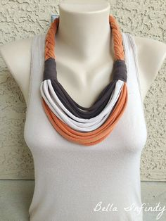 Bella Infinity Braided Scarf UpCycled by BellaInfinityScarves, $25.00
