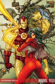 Iron Man & Spider-Woman