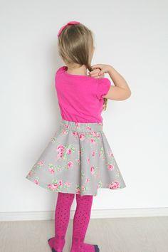 Circle Skirt Tutorial ~ Creative Homemaking