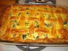 broccoli sausage pie