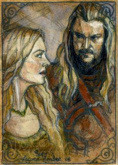 Éomer and Éowyn by Soni Alcorn-Hender