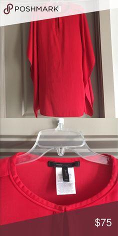 BCBG MAXAZRIA red dress Classy red dress.  Size XS/S BCBGMaxAzria Dresses Mini