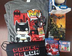 PowerUp Box Geek & Gamer Box Review + Coupon Code - April 2015 - http://hellosubscription.com/2015/04/powerup-box-geek-gamer-box-review-coupon-code-april-2015/