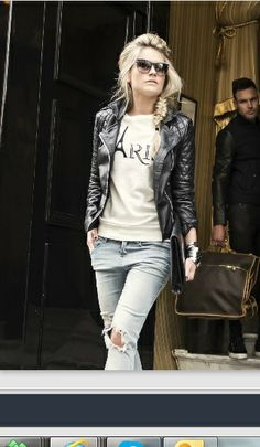 Nikkie Plessen leather jacket