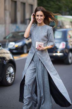 Best Milan Fashion Week Street Style Spring 2016 - Milan Street Style