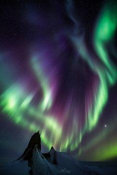 """Die """"Lichtshow"""" des heftigen geomagnetischen Sturms (6. auf 7. März 2016) war einfach nur unbeschreiblich!"""