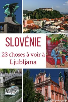 Best Things to do in Ljubljana Slovenia Travel Guide Travel Around Europe, Europe Travel Guide, Europe Destinations, Travel Abroad, Travel Around The World, Travel Guides, Travelling Europe, Cool Places To Visit, Places To Travel
