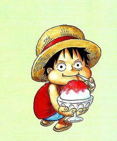 Luffy sharing | One Piece