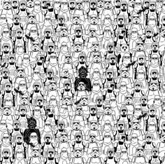 Zoek de panda: de Star Wars-editie