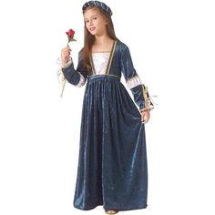 Juliet Renaissance Faire Medieval Halloween Costume Girls Size L 12 14 NEW | eBay