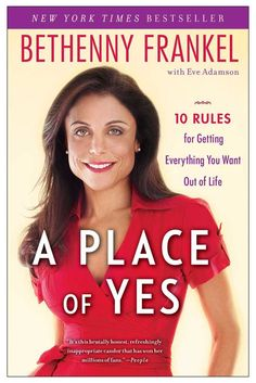 """The four-time New York Times bestselling author, talk show host, and """"Mommy Mogul"""" Bethenny Frankel takes us on an empowering journey in A Place of Yes.Bethenny Frankel's no-nonsense, tell-it-like-it-is personality won over countless fans, and made her a nationally bestselling author and the star of her own hit Bravo show Bethenny Getting Married? Now Bethenny opens up and shares the obstacles she overcame and the great success she has enjoyed while discovering how to approach life from """"A…"""