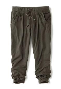Gemütliche 3/4-Jerseyhose mit breitem elastischen #Gummizugbund für €12,95 bei #Tchibo