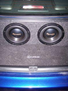 Greg installed some killer audio gear from Crutchfield in his 2003 Lexus IS300 #Premier  #srslyDIY