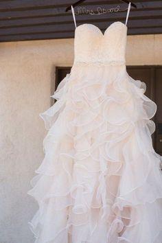 78 Cute And Girlish Ruffled Wedding Dresses | HappyWedd.com