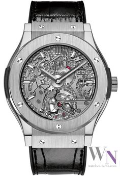 HUBLOT Classic Fusion Cathedral Tourbillon Minute Repeater | The Watches Magazine