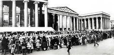 1972 and crowds lined for hours outside the British Museum just to glimpse the Treasures of Tutankhamun exhibition.