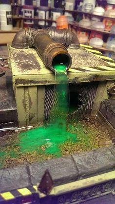Necromunda, Pipe, Pollution, Sewer