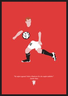 Football Posters by Dan Leydon, via Behance
