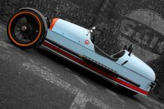Morgan Threewheeler Gulf Edition: From UK with love