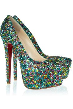 Christian Louboutin Daffodile 160 crystal-embellished leather pumps