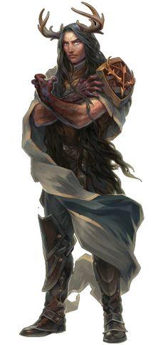 Pathfinder aasimar druid