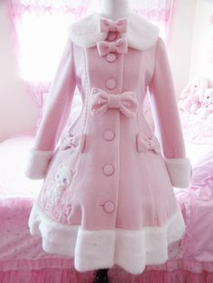 Whimsical Vanilla Chan Coat
