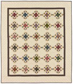 LeMoyne House Quilt Pattern