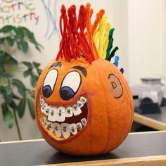 2013 Staff Pumpkin Decorating Contest  #pumpkin #halloween #contest #pediatricdentist