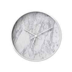 With its textured white on white design, this numberless clock allows us to focus on the beauty in each unmarked minute of our day. Hang our Living on Marbleized Time Clock in any room if you want a de...  Find the Living on Marbleized Time Clock, as seen in the The Raw Edge of Modern Collection at http://dotandbo.com/collections/the-raw-edge-of-modern?utm_source=pinterest&utm_medium=organic&db_sku=101885