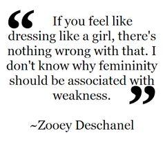 Fashion Quote ~ Zooey Deschanel