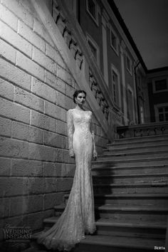 Berta Bridal Winter 2014 – Long Sleeve Wedding Dresses