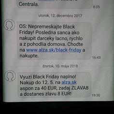 Aha ho trtkovia v #alza.sk majú celoročne black friday  pričom sa tento sviatok zvykne oslavovať v Amerike po sviatku #Thanksgiving a tento rok môžete očakávať toto šialenstvo 23. Novembra :)