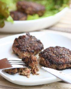 Paleo Bacon-Liver Meatballs