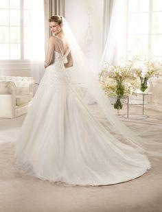 ARTIGAS | Wedding Dresses | Glamour 2013 Collection | San Patrick (back)