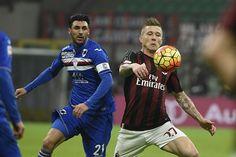 Sampdoria vs AC Milán Juraj Kucka da gol