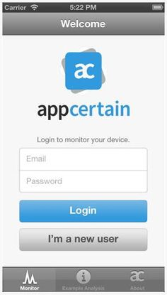 AppCertain lets you monitor the apps your kids are downloading on their devices.