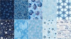 Winter's Grandeur Frost Metallic Fat Quarter Bundle - Studio RK - Robert Kaufman — Missouri Star Quilt Co.