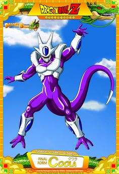 Dragon Ball Z - Final Form Coola by DBCProject on DeviantArt