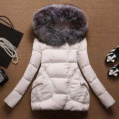 Winter Jacket Women Long Fur Hooded Winter Coat Women Cotton Padded Jacket Parka Cloak Womens Winter Jackets And Coats HL8028-in Down & Parkas from Women's Clothing & Accessories on Aliexpress.com US $28