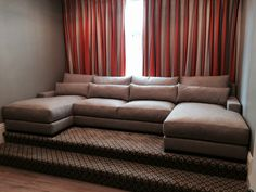 Belle Banquette Sectional Every Style Can Be Customized In Virtually Any Way Possible Www Monarchsofas More Custom Pieces On Our Houzz Pro