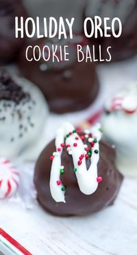 It's easy to put a festive twist on your Christmas dessert tray with a recipe as simple as these Holiday OREO Cookie Balls. With no baking required, these chocolatey bites also make a delicious edible gift idea for your friends and family. And once you get your decorating essentials—like white chocolate, festive sprinkles, and peppermint candies—from Walmart, you'll be on your way to making these homemade treats in no time.